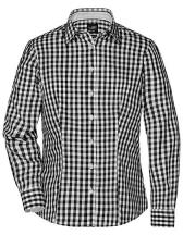 Ladies` Checked Blouse