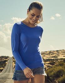 Women´s Roundneck T-Shirt Longsleeve