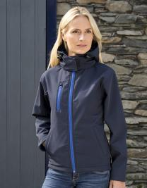 Ladies TX Performance Hooded Soft Shell Jacket